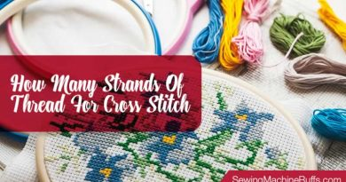How Many Strands of Thread for Cross Stitch