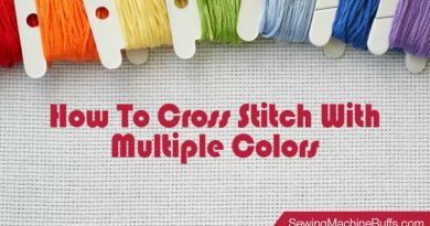 How to Cross Stitch With Multiple Colors