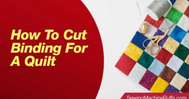 How To Cut Binding For A Quilt