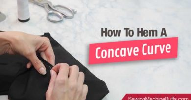 How to Hem a Concave Curve