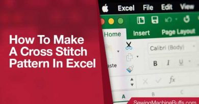 How to Make a Cross Stitch Pattern in Excel