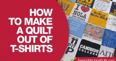 How To Make A Quilt Out Of T-Shirts