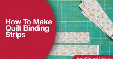 How To Make Quilt Binding Strips
