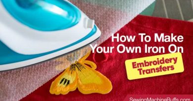 How To Make Your Own Iron-On Embroidery Transfers
