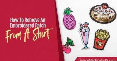 How to Remove an Embroidered Patch From a Shirt