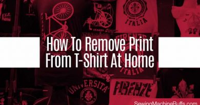 How To Remove Print From T-Shirt At Home