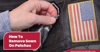 How To Remove Sewn On Patches