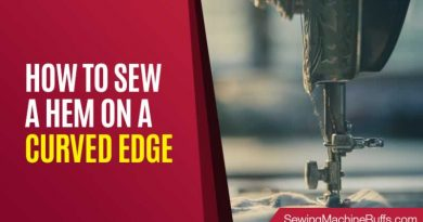 How to Sew a Hem on a Curved Edge