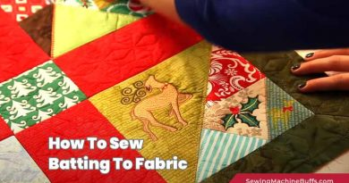 How to Sew Batting to Fabric