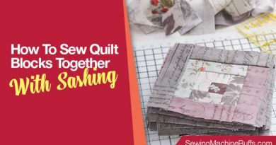 How To Sew Quilt Blocks Together With Sashing