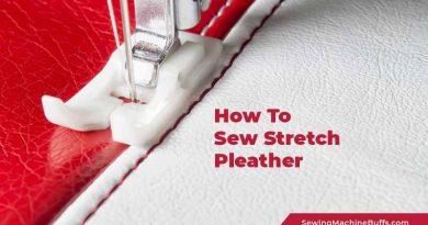 How To Sew Stretch Pleather