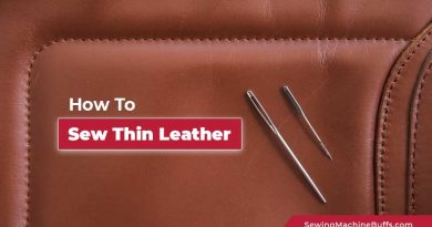 How To Sew Thin Leather