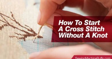 How To Start A Cross Stitch Without A Knot