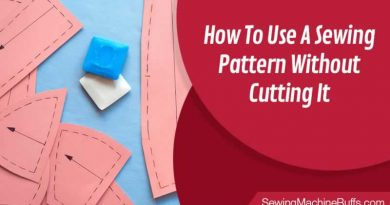 How To Use A Sewing Pattern Without Cutting It