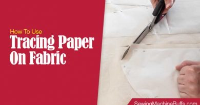 How To Use Tracing Paper On Fabric