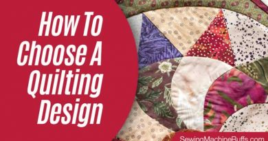 How To Choose A Quilting Design