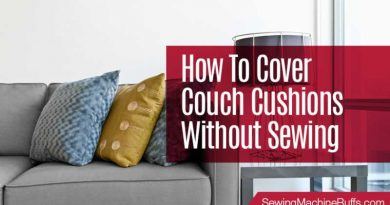How To Cover Couch Cushions Without Sewing