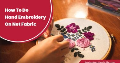 How To Do Hand Embroidery On Net Fabric