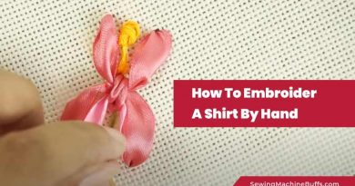 How To Embroider On Satin Ribbon