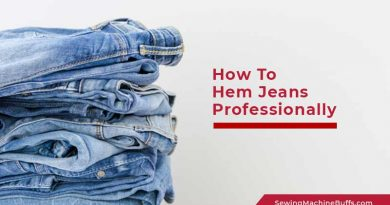 How To Hem Jeans Professionally