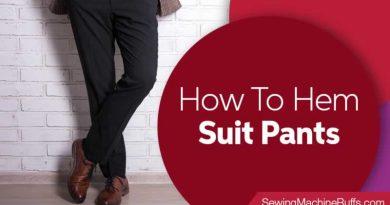 How To Hem Suit Pants