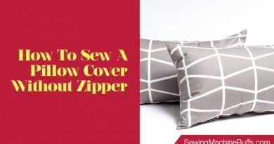 How To Sew A Pillow Cover Without a Zipper