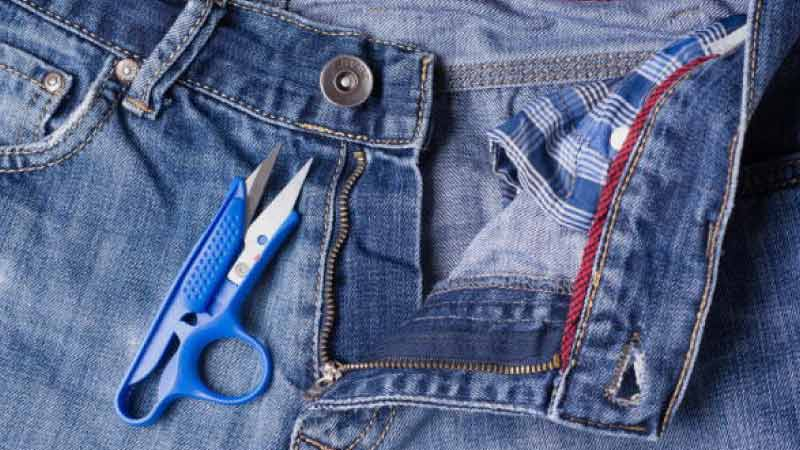 How to Remove Jeans Button with a Cutter