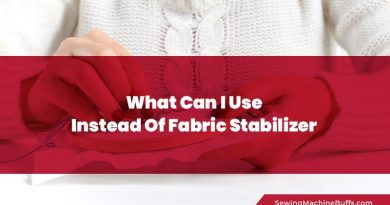 What Can I Use Instead Of Fabric Stabilizer