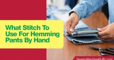 What Stitch To Use For Hemming Pants By Hand
