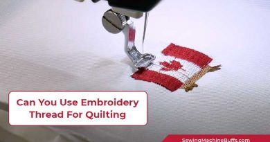 Can You Use Embroidery Thread For Quilting