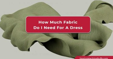 How Much Fabric Do I Need For A Dress