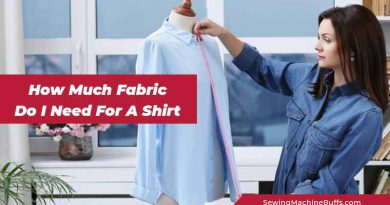 How Much Fabric Do I Need For A Shirt