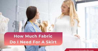 How Much Fabric Do I Need For A Skirt