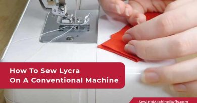 How To Sew Lycra On A Conventional Machine