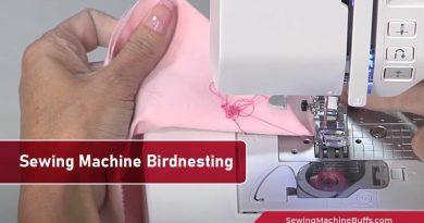 Sewing Machine Birdnesting