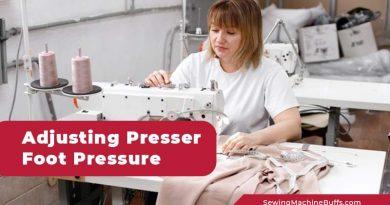 How to Adjust Presser Foot Pressure Janome