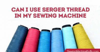 Can I Use Serger Thread In My Sewing Machine