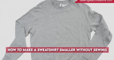 How To Make A Sweatshirt Smaller Without Sewing