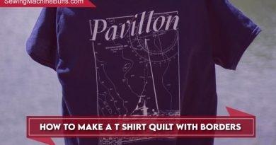 How To Make A T-shirt Quilt With Borders