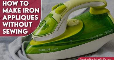 How To Make Iron On Appliques Without Sewing
