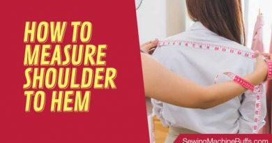 How To Measure Shoulder To Hem
