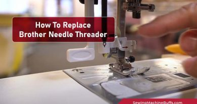 How To Replace Brother Needle Threader