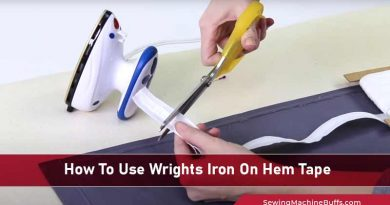 How To Use Wrights Iron On Hem Tape