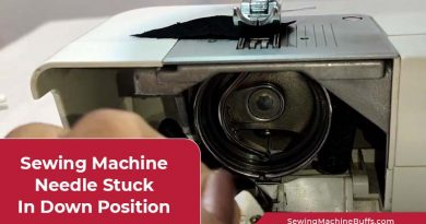 Sewing Machine Needle Stuck in Down Position