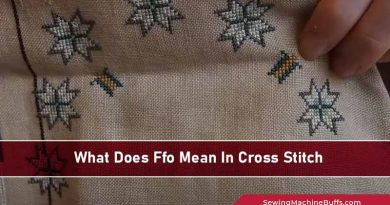 What Does FFO Mean In Cross Stitch