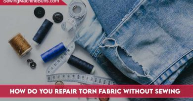How Do You Repair Torn Fabric Without Sewing