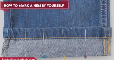 How To Mark A Hem By Yourself
