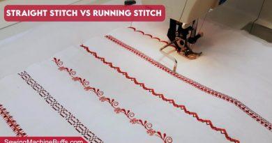 Straight Stitch Vs Running Stitch